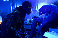 Attack the Block (2011) <br /> Nick Frost<br /> *Filmstill - Editorial Use Only*<br /> CAP/KFS<br /> Image supplied by Capital Pictures