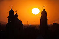 sol catedral, hermosillo
