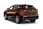 Car pictures of rear three quarter view of 2016 Lexus RX Privilege Line 5 Door Suv Angular Rear