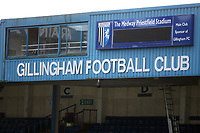 General view of The TV Gantry at Gillingham FC during Gillingham vs Barnsley, Sky Bet EFL League 1 Football at The Medway Priestfield Stadium on 9th February 2019