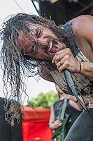 Job for a Cowboy at Mayhem Fest 2013 in Atlanta, GA.