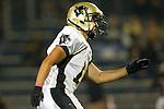 Lawndale, CA 10/21/11 - Brandon Canky (Peninsula #11) in action during the Peninsula - Leuzinger varsity football game.