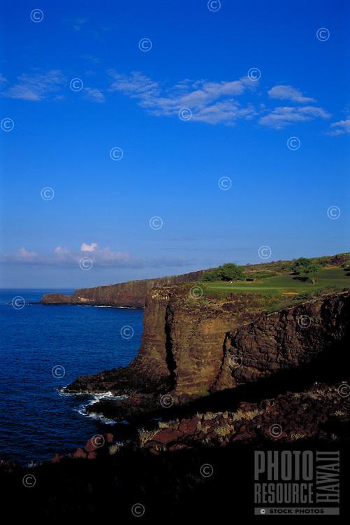 The Challenge golf course, Lanai