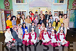 The cast of the Killarney Musical Society musical Me and My Girl in the INEC on Wednesday night
