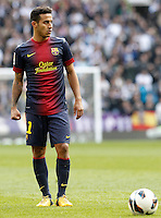 FC Barcelona's Thiago Alcantara during La Liga match.March 02,2013. (ALTERPHOTOS/Acero) /NortePhoto