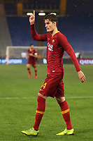 Patrik Schick of AS Roma celebrates after scoring a goal <br /> Roma 14-01-2019 Stadio Olimpico<br /> Football Calcio Coppa Italia 2018/2019 Round of 16  <br /> AS Roma - Virtus Entella<br /> Foto Gino Mancini / Insidefoto