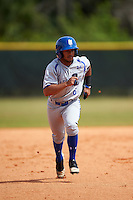 Seton Hall Pirates center fielder Derek Jenkins (6) running the bases during a game against the Indiana Hoosiers on March 5, 2016 at North Charlotte Regional Park in Port Charlotte, Florida.  Seton Hall defeated Indiana 6-4.  (Mike Janes/Four Seam Images)