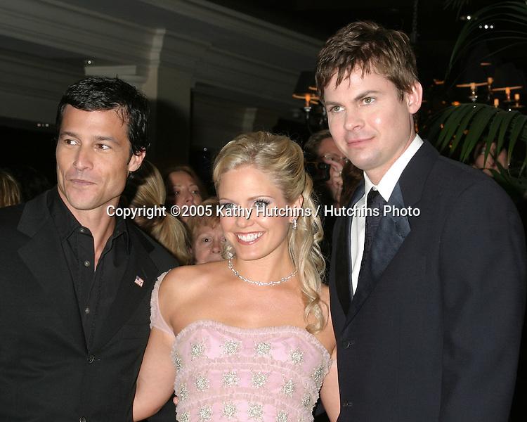 Mark Collier.Terri Colombino.Trent Dawson.32nd Annual Daytime Emmys.Radio City Music Hall.New York City, NY.May 20, 2005.©2005 Kathy Hutchins / Hutchins Photo...