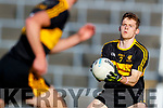 Gavin White Dr Crokes in action against  West Kerry in the Kerry Senior Football Championship Semi Final at Fitzgerald Stadium on Saturday.
