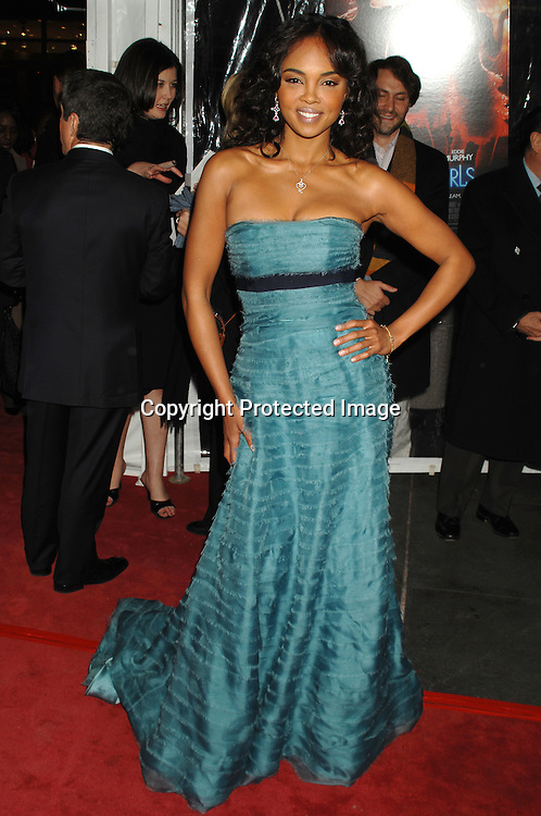 "Sharon Leal ..arriving at The World Premier of ""Dreamgirls"" on ..December 4, 2006 at The Ziegfeld Theatre in New York, ..Roibn Platzer, Twin Images"
