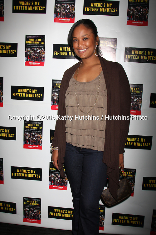 "Laila Ali.Howard Bragman's Book Party for ""Where's My Fifteen Minutes"" at the Chateau Marmont Hotel in West Los Angeles, CA on .January 14, 2009.©2008 Kathy Hutchins / Hutchins Photo..                ."