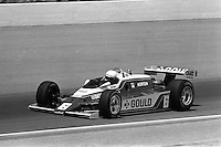 INDIANAPOLIS, IN - MAY 24: Rick Mears drives his Penske PC9B 005/Cosworth during the Indianapolis 500 USAC/CART Indy Car race at the Indianapolis Motor Speedway in Indianapolis, Indiana, on May 24, 1981.