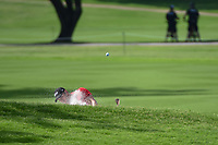 Martin Kaymer (GER) hits from the trap on 2 during round 2 of the 2019 Charles Schwab Challenge, Colonial Country Club, Ft. Worth, Texas,  USA. 5/24/2019.<br /> Picture: Golffile   Ken Murray<br /> <br /> All photo usage must carry mandatory copyright credit (© Golffile   Ken Murray)