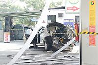 SÃO GONÇALO, RJ, 27.06.2018 - EXPLOSÃO-POSTO - Explosão de veículo em posto de GNV em São Gonçalo, região metropolitana do Rio de Janeiro nesta quarta-feira, 27. (Foto: Clever Felix/Brazil Photo Press)