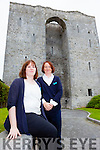Listowel Castle has seem 4,000 visitors through the door since the tourist attraction opened in mid-May. Pictured were tour guides Dianne Nolan and Annette McAuliffe.
