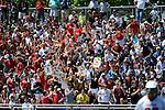 Bryant University vs. University of Maryland in the NCAA Division I Men's Lacrosse Quarterfinal at Hofstra University on Saturday, May 17, 2014, in Hempstead, N.Y. Photo by Kathy Kmonicek