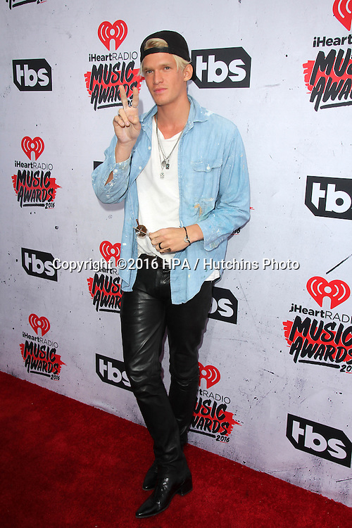 LOS ANGELES - APR 3:  Cody Simpson at the iHeart Radio Music Awards 2016 Arrivals at the The Forum on April 3, 2016 in Inglewood, CA