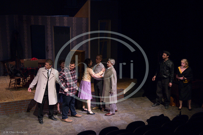 Glens Falls Community Theater presents &quot;A View from the Bridge&quot; Directed by Rene Roberge. Held at the Charles R. Wood Theater, May 1-3, 2015.<br /> <br /> &ldquo;A View From the Bridge&rdquo; takes place in Brooklyn in the 1950&rsquo;s and is one of Arthur Miller&rsquo;s most powerful and passionate plays. Multiple revivals have been staged since then with the most recent in 2009-2010 bringing Scarlett Johansson a Tony for her performance.