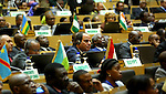 Egypt's President Abdel Fattah al-Sisi attends the opening ceremony of the 26th Ordinary Session of the Assembly of the African Union (AU) at the AU headquarters in Ethiopia's capital Addis Ababa, January 30, 2016. Photo by Egyptian President Office