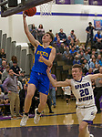 A photograph taken during the class 4A Northern Regional Boys Basketball Championship game at Spanish Springs High School in Sparks, Nev., Saturday, Feb. 22, 2020.
