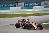 29th September 2017, Sepang, Malaysia;  Motorsports: FIA Formula One World Championship 2017, Grand Prix of Malaysia, #14 Fernando Alonso (ESP, McLaren Honda),