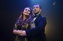 "London, UK. 04.08.2015. Danielle Tarento Productions presents ""Grand Hotel"", at Southwark Playhouse. Picture shows: Christine Grimandi (Elizaveta Grushinskaya) and Scott Garnham (Baron Felix von Gaigern). Photograph © Jane Hobson."
