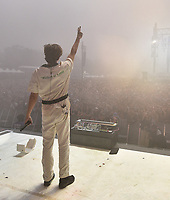 SAN FRANCISCO, CALIFORNIA - AUGUST 10: Flume  - Harley Streten performs onstage during the 2019 Outside Lands Music And Arts Festival at Golden Gate Park on August 10, 2019 in San Francisco, California. <br /> CAP/MPI/IS<br /> ©IS/MPI/Capital Pictures