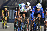 The peloton including Edvald Boasson Hagen (NOR) Dimension Data with 12k to go during the 60th edition of the Record Bank E3 Harelbeke 2017, Flanders, Belgium. 24th March 2017.<br /> Picture: Eoin Clarke | Cyclefile<br /> <br /> <br /> All photos usage must carry mandatory copyright credit (&copy; Cyclefile | Eoin Clarke)