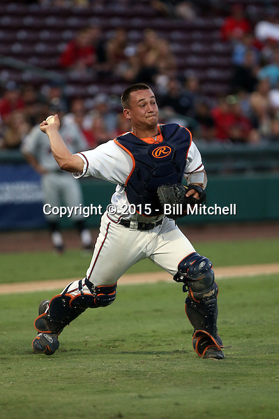 Matt Thaiss - 2015 Virginia Cavaliers (Bill Mitchell)