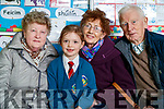 Mary Maguire, Maura Casey, Mary Casey and Francis Casey, Tralee, pictured at Grandparents day at Scoil Eoin, Balloonagh, Tralee on Tuesday last.