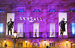 Premier Skyfall in Madrid.