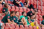 enttäuscht / enttaeuscht / traurig Philipp Bargfrede (Werder Bremen #44), Christian Groß / Gross (Werder Bremen #36), Stefanos Kapino (Werder Bremen #27), Leonardo Bittencourt  (Werder Bremen #10)<br /> <br /> <br /> Sport: nphgm001: Fussball: 1. Bundesliga: Saison 19/20: 33. Spieltag: 1. FSV Mainz 05 vs SV Werder Bremen 20.06.2020<br /> <br /> Foto: gumzmedia/nordphoto/POOL <br /> <br /> DFL regulations prohibit any use of photographs as image sequences and/or quasi-video.<br /> EDITORIAL USE ONLY<br /> National and international News-Agencies OUT.