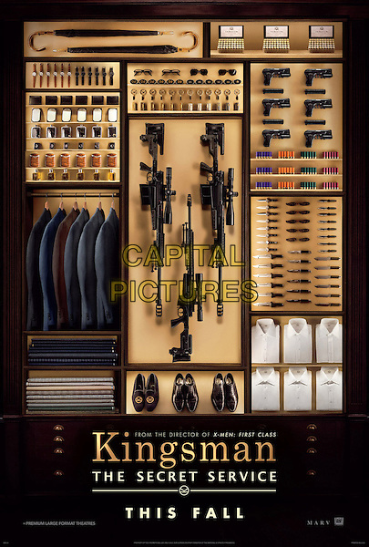 POSTER ART<br /> in Kingsman: The Secret Service (2015) <br /> *Filmstill - Editorial Use Only*<br /> CAP/FB<br /> Image supplied by Capital Pictures