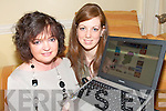WORLD WIDE: Checking out  the  www.irelandforkids.ie website which will be the number one website for organising kids free time in Ireland which was launched in Killarney on Thursday..L/r. Noreen O'Shea (Fossa) and Michelle O'Shea (Fossa).   Copyright Kerry's Eye 2008