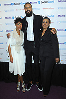 www.acepixs.com<br /> May 4, 2017  New York City<br /> <br /> Kimberly Chandler, Tyson Chandler and her mother attending the kick off event for  Moms + SocialGood Global Moms Relay campaign founded by Johnson &amp; Johnson and United Nations Foundation to improve the wellbeing of families around the world on May 4, 2017 in New York City.<br /> <br /> Credit: Kristin Callahan/ACE Pictures<br /> <br /> <br /> Tel: 646 769 0430<br /> Email: info@acepixs.com
