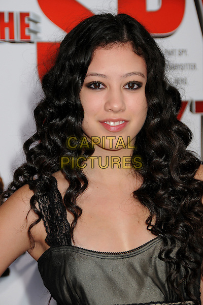 """KEANA TEXEIRA.""""The Spy Next Door"""" Los Angeles Premiere held at The Grove,  Los Angeles, California, USA, .9th January 2010..portrait headshot curly hair  .CAP/ADM/BP.©Byron Purvis/Admedia/Capital Pictures"""