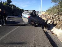Un conductor perdió el control de su vehículo cuando circulaba en el libramiento sur poniente en dirección a Santa Bárbara, el chofer resultó lesionado y fue trasladado al hospital.