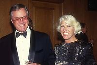 Larry Hagman wife Maj Axelsson 1984<br /> Photo By John Barrett/PHOTOlink.net / MediaPunch