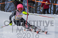 2016 Section 4 Alpine Ski Meet  AM Run