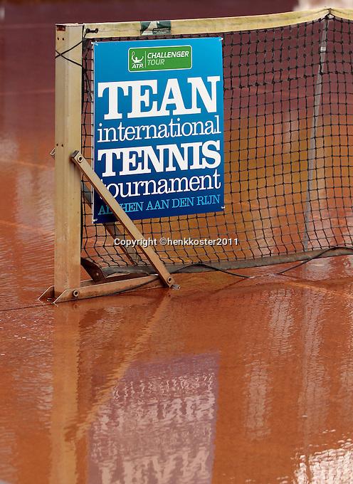 07-09-11, Tennis, Alphen aan den Rijn, Tean International, Regen