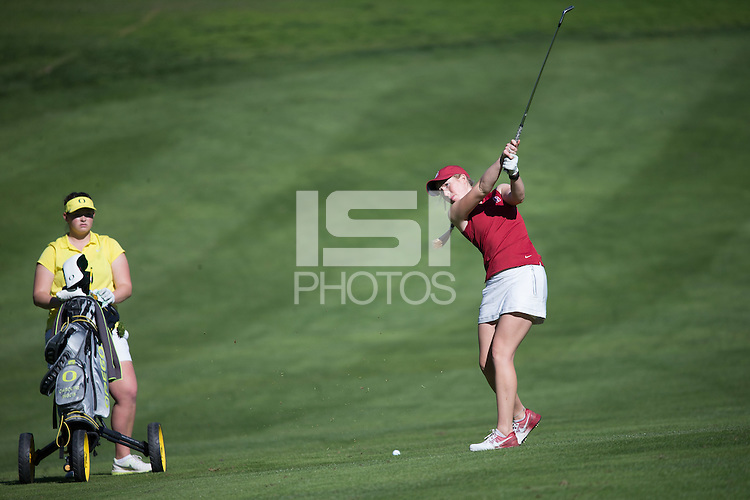 STANFORD, CA - February 14, 2016: Stanford women's golf team placed second in the 21st Peg Barnard Invitational at Stanford Golf Course.