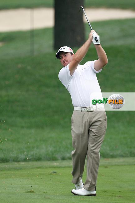 Graeme McDowell (NIR) on the 10th on day 3 of the World Golf Championship Bridgestone Invitational, from Firestone Country Club, Akron, Ohio. 6/8/11.Picture Fran Caffrey www.golffile.ie