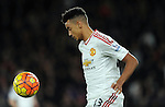 Cameron Borthwick Jackson of Manchester United<br /> - Barclays Premier League - Bournemouth vs Manchester United - Vitality Stadium - Bournemouth - England - 12th December 2015 - Pic Robin Parker/Sportimage