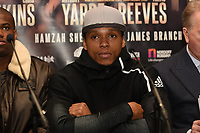 Anthony Yarde during a Press Conference at The Gore Hotel on 6th March 2019