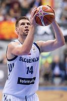 Slovenia Gasper Vidmar during FIBA European Qualifiers to World Cup 2019 between Spain and Slovenia at Coliseum Burgos in Madrid, Spain. November 26, 2017. (ALTERPHOTOS/Borja B.Hojas) /NortePhoto NORTEPHOTOMEXICO
