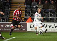 Pictured: Thomas Butler of Swansea City<br />
