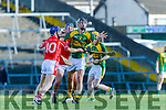 &quot;Shane Mullane of Monaleen in action against James Godley of Kilmoyley at the Gaelic Grounds, Limerick<br /> <br /> Photo: Oisin McHugh True Media