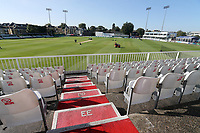 General view of the ground during Essex CCC vs Somerset CCC, Specsavers County Championship Division 1 Cricket at The Cloudfm County Ground on 31st August 2017