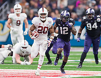 Stanford Football vs TCU - The Alamo Bowl, December 28, 2017