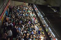 S&Atilde;O PAULO, SP, 24.02.2017- FERIADO-SP - <br /> Movimenta&ccedil;&atilde;o na Rodoviaria do Jabaquara regi&atilde;o sul de S&atilde;o Paulo nesta sexta-feira de carnaval. (Foto: Danilo Fernandes/Brazil Photo Press)
